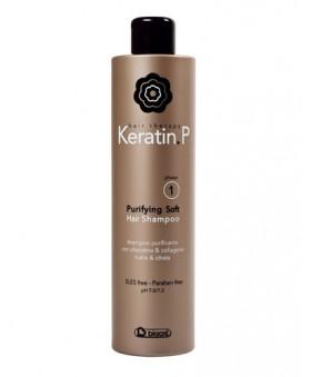 Purifying Soft Hair Shampoo 500ml (SLES - Paraben free – pH 7,0-7,5 )  (PHASE 1)